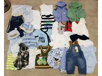 Boys winter/autumn collection 0-3 months
