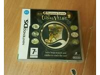 Professor Layton&the curious village DS game