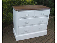 Antique Victorian Chest of Drawers Painted Annie Sloane - Shabby Chic - Can deliver