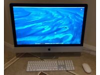 """iMac """"Core i5"""" 3.2GHz 27-inch (Late 2013) 16GB RAM 1TB HDD + Keyboard, Mouse & Box - Immaculate!"""
