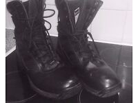Magnum genuine leather boots, MINT condition