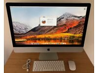 "27"" Apple iMac 5K (late 2015), 3.2GHz i5, 8GB, 1TB Fusion, M380, AppleCare warranty to 28/11/18"