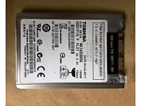 "1.8"" Toshiba MK1633GSG 160Gb Micro sata Harddrive used in HP Elitebook&more - Tested Working"