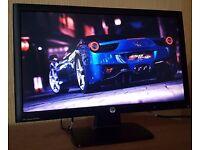 "HP 22"" Full HD LED widescreen Monitor (DVI+VGA) 1080p , Slim Monitor for desktop computer /cctv etc"