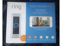 Ring Video Doorbell Pro - Kit with chime and transformer, 1080p HD WiFi