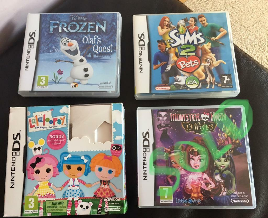 sims ds games