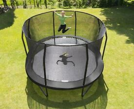 Professional JumpKing Trampoline 10ft x 15ft Oval Jump Pod.