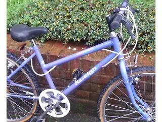 """Girls Raleigh Calypso Mountain Bike 24"""" wheels GOOD CONDITION AND WORKING Order"""