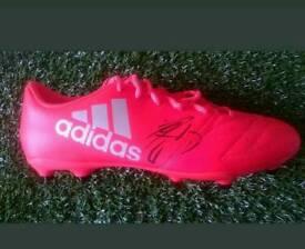Phill jagielka hand signed football boot with Coa