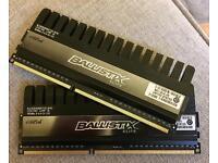 Ballistix 2 x 4Gb DDR3