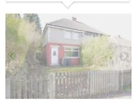 TO LET FULLY FURNISHED- 2 bedroom semi detached house in BD9 area.