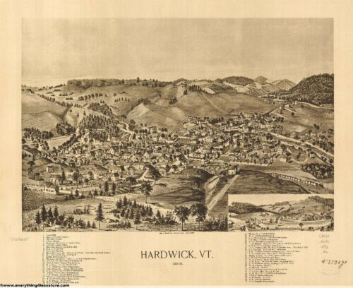 VERMONT VINTAGE PANORAMIC MAPS COLLECTION ON CD