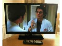 24in Seiki LED TV with Freeview HD and Built in DVD Player HDMI USB VGA SCART