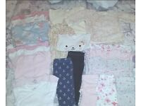 Baby Girls 3-6 Months Bundle Of Clothes