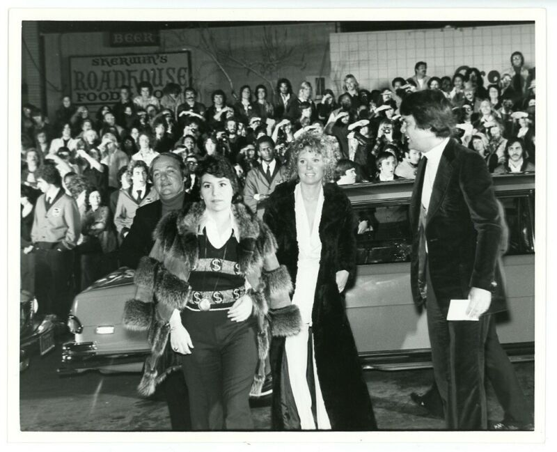1975 TOMMY premiere party original candid news photo