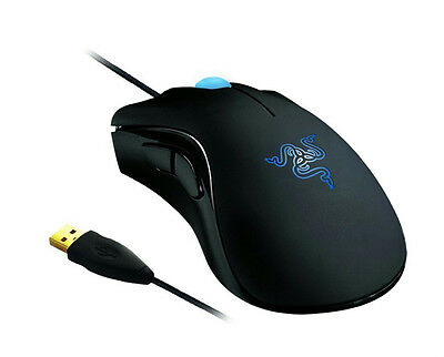 New Razer Deathadder Infrared Gaming Mouse With 3500 Dpi