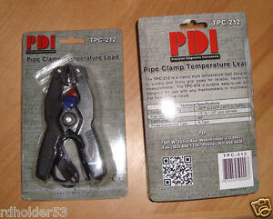 PDI TPC-212 K-Type Thermocouple Pipe Clamp 1/4