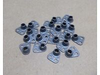 10-32 LOW HEIGHT 450° MS21048L3 SELF-LOCKING NUT PLATE A286 STAINLESS 25Pcs