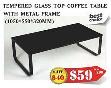 【Brand New】 Tempered Glass Coffee Table**Unbeaten Price Nunawading Whitehorse Area Preview