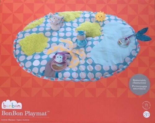 BonBon Infant Baby Activity PLAYMAT Tummy Time Texture Sounds Play Mat NEW