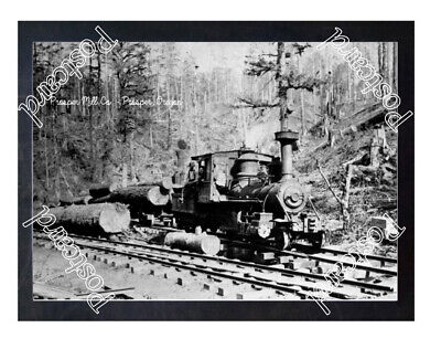 Historic Prosper Mill Co. - Prosper, Oregon Train Postcard