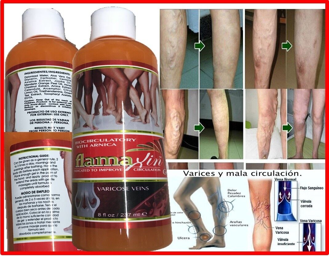 Medic Herbal Ointment Varicose Veins Vasculitis Treatment Foot Care Cream leg US