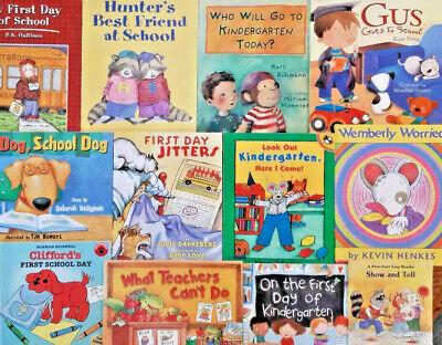 1st Day Of Kindergarten (Lot 1st Day of School/Starting First Grade KINDERGARTEN Books PreSchool Teacher)