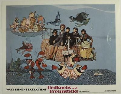 Authentic Lobby Card Movie Poster Walt Disney BEDKNOBS & BROOMSTICKS 1979