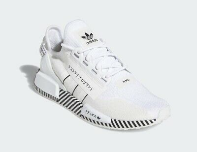Adidas NMD R1 V2 Casual Mesh Lifestyle Sneakers Shoes FY2105 White Men's...
