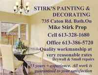 Professional painter available