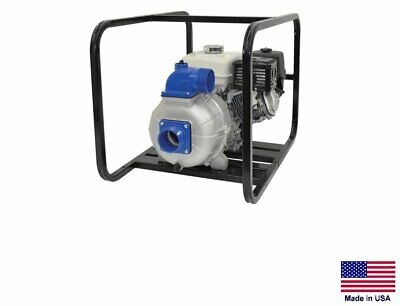 Trash Pump Commercial - Cast Aluminum - 10 Hp Diesel - 4 Ports - 32400 Gph