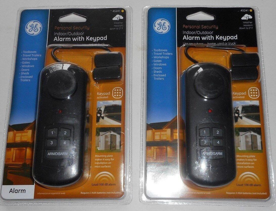 Ge Outdoor/Indoor Alarm With Keypad 45241
