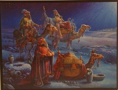 Tom Dubois Two Prints For One Price   No Room In The Inn  Wisemen