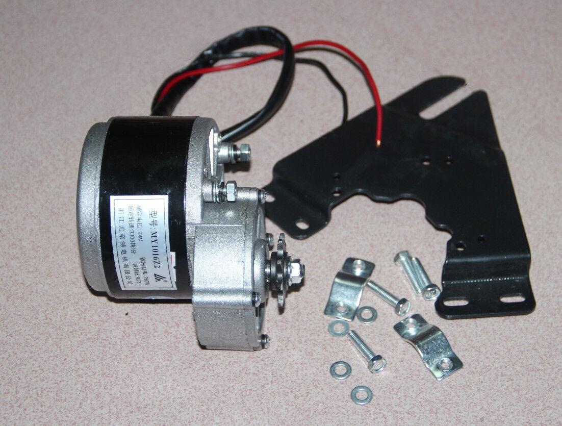 24v250w Brush Motor Reduction Motor Diy Motor Electric