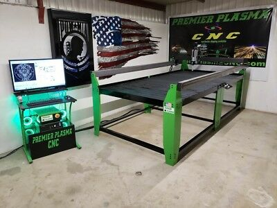 CNC PLASMA CUTTING 4x8 Table PREMIER Plasma 2018 MADE IN USA W/ Floating Head for sale  Glendale