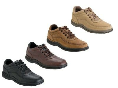 Rockport World Tour Classic Mens Leather Oxfords Walking Shoes