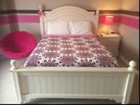Girls bedding (comforter, curtains, chair, lamp, sheets)