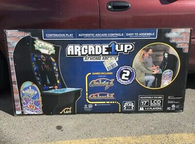 Galaga + Galaxian Arcade 1UP Video Game Machine 4ft - NEW