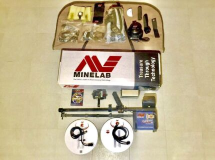 "Minelab GPX 5000 Metal Detector & 20"" Coil"