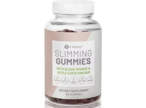 Slimming Gummies IT WORKS MOROSIL Blood Orange Apple Cider Vinegar 30 Day Supply