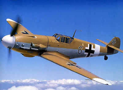 ME  109  50%  16 foot  wing span   Giant Scale RC Model AIrplane Printed Plans