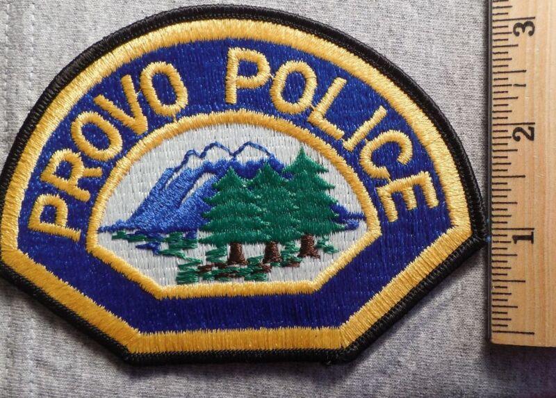 PROVO UTAH POLICE PATCH (HIGHWAY PATROL, SHERIFF, EMS, STATE)