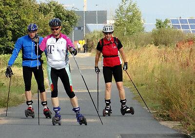 Auch in der Gruppe ein Erlebnis: Cross-Skating.
