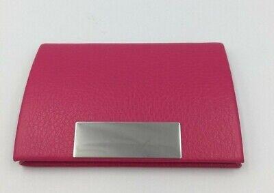 Pocket Business Card Holder Case Id Credit Name Box Wallet Magnetic Ship Fast Us