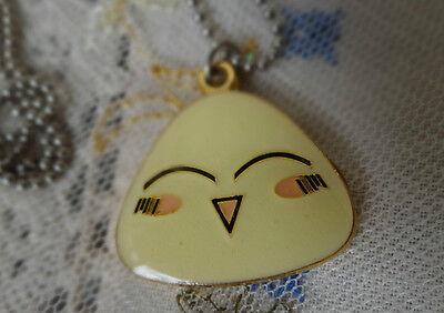 cute origini rice ball fruits basket necklace pendant cosplay anime manga