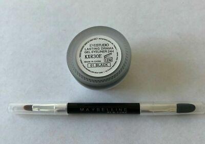 Maybelline lasting drama Gel Eyeliner 3g + Pinsel -