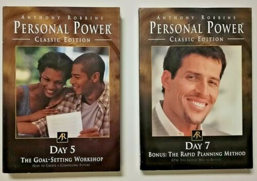 Personal Power Classic Edition Replacement Day 5 & 7 Discs w/ Anthony Robbins