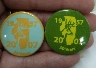 Bow /& Shotgun 2016 Illinois Deer Harvest Pins