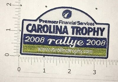 Carolina Trophy Patch   2008 Rallye   Premier Financial Services