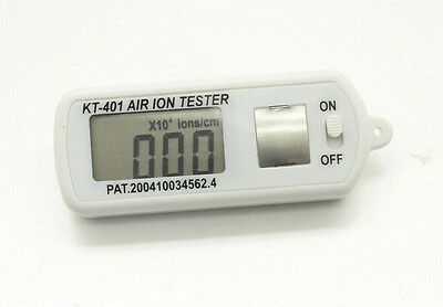 Air Ion Tester Meter Counter -ve Negative Ions With Peak Maximum Hold